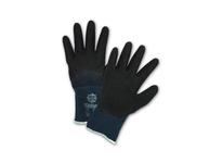 West Chester 715SLC/XL Black Latex Crinkle Finish 3/4 Coat on Blue 15 Gauge Nylon Liner Antibacterial. EN 3131