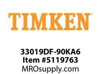 TIMKEN 33019DF-90KA6 TRB Metric 2TS Assembly 4-8 OD