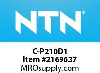 NTN C-P210D1 Cast Housing