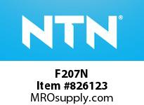 NTN F207N Bearing Units - Cast Housing