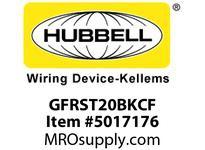 HBL_WDK GFRST20BKCF 20A COM SELF TEST CF GFR BLACK BULK