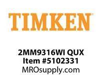 TIMKEN 2MM9316WI QUX Ball P4S Super Precision