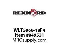 REXNORD WLT5966-18F4 WLT5966-18 F3 T4P WLT5966 18 INCH WIDE MATTOP CHAIN W