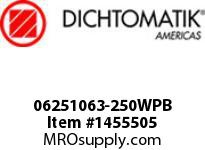 Dichtomatik 06251063-250WPB WIPER