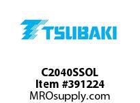 "US Tsubaki C2040SSOL C2040SS """"304""""OFFSET LINK"