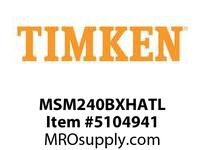 TIMKEN MSM240BXHATL Split CRB Housed Unit Assembly