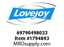 LoveJoy 69790498033 SLD 900 MM 260 #