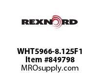 REXNORD WHT5966-8.125F1 WHT5966-8.125 F1 T4P WHT5966 8.125 INCH WIDE MATTOP CHAI