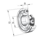 FAG 6214.2ZR RADIAL DEEP GROOVE BALL BEARINGS