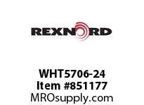 REXNORD WHT5706-24 WHT5706-24 WHT5706 24 INCH WIDE MATTOP CHAIN W