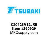 US Tsubaki C2042SA12LRB C2042 RIV 2L/SA-1