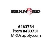 REXNORD 6483734 20-GC5412-02 IDL*45 P/A STL EQ F/S
