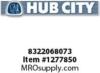 HubCity 8322068073 CONE BEARING 47490 OR EQ
