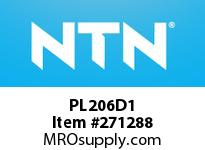 NTN PL206D1 CAST HOUSINGS