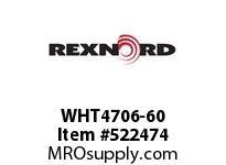REXNORD WHT4706-60 WHT4706-60 153447