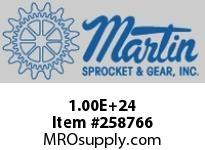 100E23 Roller Chain Sprocket QD Bushed