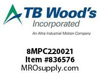 TBWOODS 8MPC220021 8MPC-2200-21 QTPCII BELT