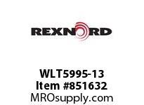 REXNORD WLT5995-13 WLT5995-13 WLT5995 13 INCH WIDE MATTOP CHAIN W