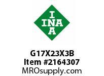 INA G17X23X3B Seal single lip