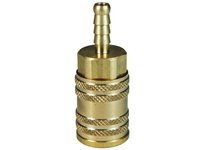 "DIXON 2MS2-B 1/4"" ARO MAN COUP 1/4"" BARB BRASS 200698-2"