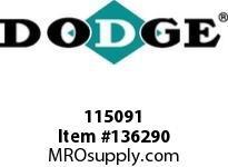 DODGE 115091 8C30.0-4040