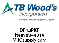 TBWOODS DF13PKT PACKET WE10M