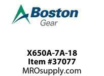BOSTON 28373 X650A-7A-18 I/P PINION REDUCTOR