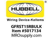 HBL_WDK GFRST15RBULK 15A COM SELF TEST GFR RED BULK
