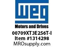 WEG 00709XT3E256T-I 7HP 900 60 208-230/460 XP - Nema Pr
