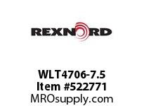 REXNORD WLT4706-7.5 WLT4706-7.5 147214