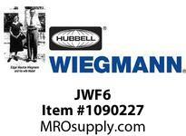WIEGMANN JWF6 FITTINGCUT-OFF6SQ