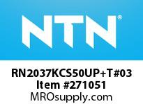 NTN RN2037KCS50UP+T#03 PRECISION CYLINDRICAL BRG