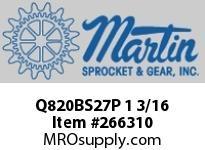 Q820BS27P 1 3/16 FINISHED BORE QRS PLASTIC
