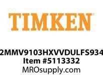 TIMKEN 2MMV9103HXVVDULFS934 Ball High Speed Super Precision