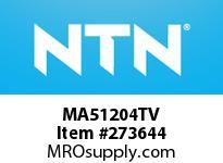 NTN MA51204TV CYLINDRICAL ROLLER BRG