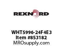REXNORD WHT5996-24F4E3 WHT5996-24 F4 T3P N2.125 WHT5996 24 INCH WIDE MATTOP CHAIN W