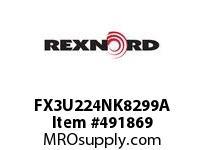 FX3U224NK8299A FLANG BLK FX3-U224NK82/99 5803461
