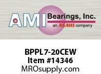 AMI BPPL7-20CEW 1-1/4 NARROW SET SCREW WHITE PILLOW PILLOW BLK/O.C&C.C