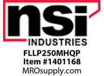 NSI FLLP250MHQP LOW PROFILE FLOOD 250W MH PULSE QUAD