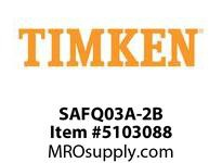 TIMKEN SAFQ03A-2B Split CRB Housed Unit Component