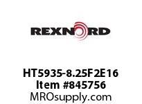 REXNORD HT5935-8.25F2E16 HT5935-8.25 F2 T16P N.75 HT5935 8.25 INCH WIDE MATTOP CHAIN