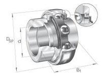 INA GNE50KRRB Radial insert ball bearing