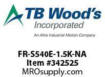 TBWOODS FR-S540E-1.5K-NA INVERTER 480V 2HP SUB-MIRCO