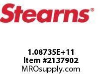 STEARNS 108735102010 BRK-SPLINE HUBSW 204646