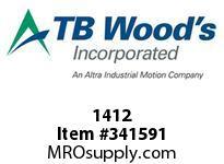 TBWOODS 1412 1412 1X7/8 REDUC BUSH