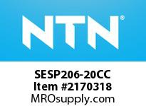 NTN SESP206-20CC Stainless-Mounted bearing unit