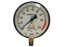 "DIXON SWG300-4 4"" FACE SPRINKLER GAUGE UL393 0/300 PSI (WATER)"