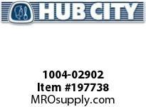 HUBCITY 1004-02902 TU220X5/8 TAKE UP UNIT