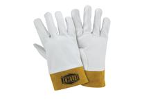 West Chester 6140/S Premium top grain kidskin TIG welding glove straight thumb 2^ cuff Kevlar sewn.