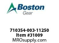 BOSTON 72737 710354-003-11250 ROTOR SUB-ASSEMBLY 3